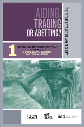 Aiding Trading of Abetting? Designing Conflict-Sensitive Trade Policy