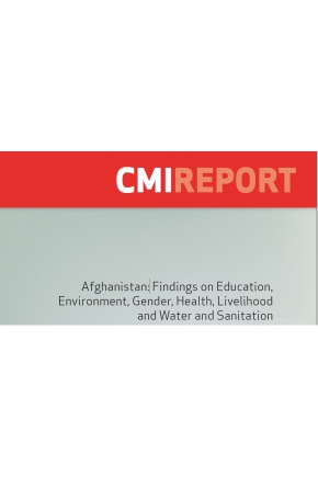 Afghanistan: Findings on Education, Environment, Gender, Health, Livelihood and Water and Sanitation
