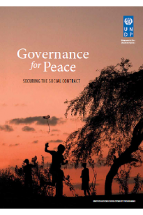 Governance for Peace: Securing the Social Contract