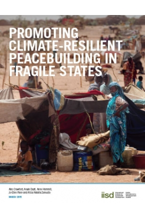 Promoting Climate-Resilient Peacebuilding in Fragile States
