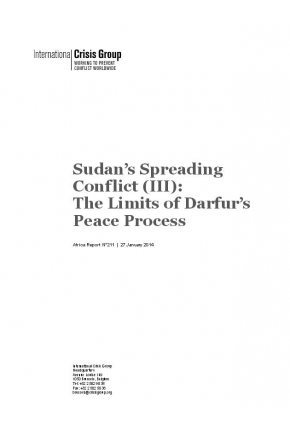 Sudan's Spreading Conflict: The Limits of Darfur's Peace Process