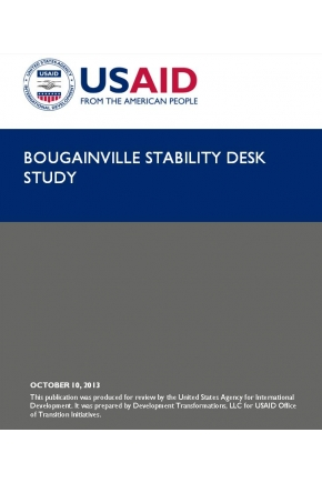 Bougainville Stability Desk Study