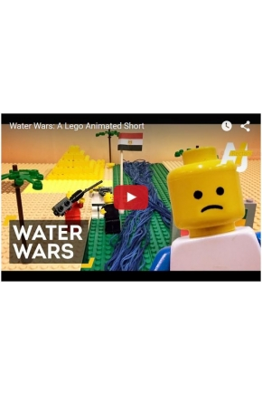 Water Wars from the Pharaohs to the West Bank in 2 mins. via LEGO Animation [Video]