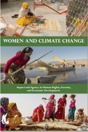 Women and Climate Change: Impact and Agency in Human Rights, Security, and Economic Development