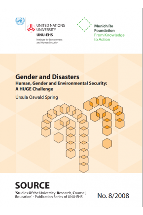 Gender and Disasters: Human, Gender and Environmental Security