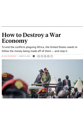 How to Destroy a War Economy
