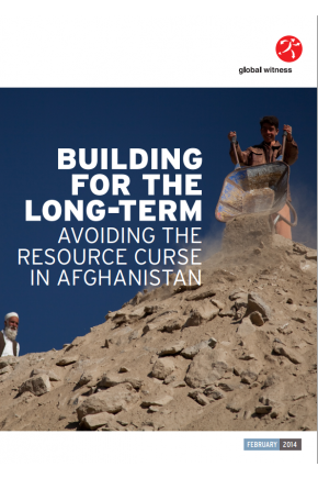 Building for the Longterm: Avoiding the Resource Curse in Afghanistan