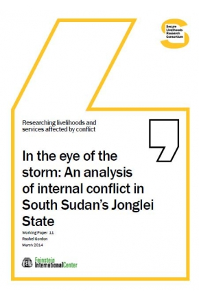In the Eye of the Storm: An Analysis of Internal Conflict in South Sudan's Jonglei State