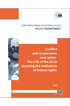 Conflict and Cooperation over Water - The Role of the EU in Ensuring the Realisation of Human Rights