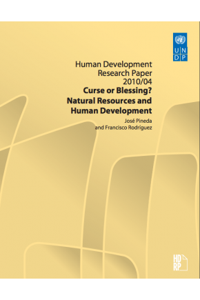 Curse or Blessing? Natural Resources and Human Development