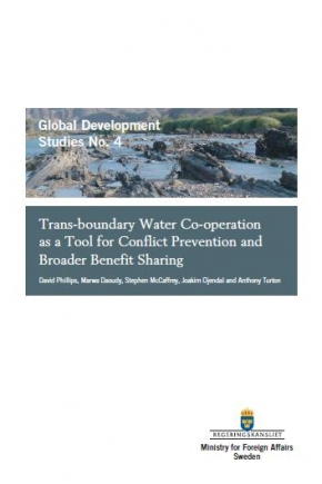 Trans-boundary Water Cooperation as a Tool for Conflict Prevention and for Broader Benefit-sharing