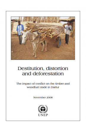 Destitution, Distortion and Deforestation --The Impact of Conflict on the Timber and Woodfuel Trade in Darfur