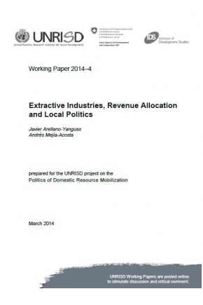 Extractive Industries, Revenue Allocation and Local Politics