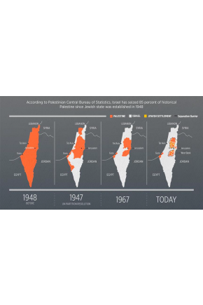 Palestine Marks 'Land Day' amid Fresh Israeli Land Grabs [Infographic]