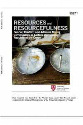 Resources and Resourcefulness: Gender, Conflict, and Artisanal Mining Communities in Eastern Democratic Republic of the Congo
