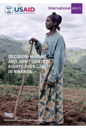Decision-Making and Joint Control Rights over Land in Rwanda