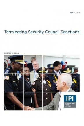 Terminating Security Council Sanctions