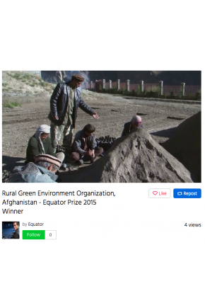 Rural Green Environment Organization, Afghanistan