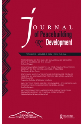 Environmental Priorities in Post-Conflict Recovery: Efficacy of the Needs-Assessment Process