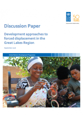 Discussion Paper: Development Approaches to Forced Displacement in the Great Lakes Region