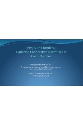 Rivers and Borders:  Exploring Cooperative Narratives in Conflict Zones [Video]