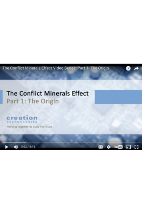The Conflict Minerals Effect Video Series Part I: The Conflict Minerals Effect [Video]