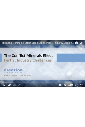 The Conflict Minerals Effect Video Series Part II: Industry Challenges [Video]