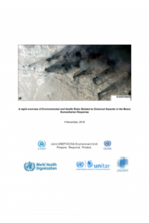 A Rapid Overview of Environmental and Health Risks Related to Chemical Hazards in the Mosul Humanitarian Response