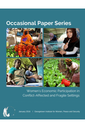 Women Economic Participation in Conflict Affected Countries