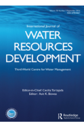 An Alternative Framework for Analysing and Managing Conflicts in Integrated Water Resources Management (IWRM): Linking Theory and Practice