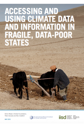 Accessing and Using Climate Data and Information in Fragile Data-Poor States