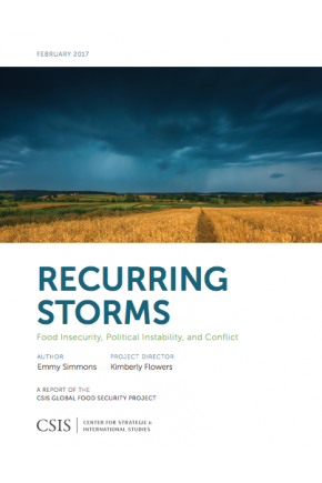 Recurring Storms: Food Insecurity, Political Instability, and Conflict