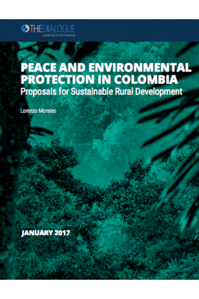 Peace and Environmental Protection in Colombia: Proposals for Sustainable Rural Development
