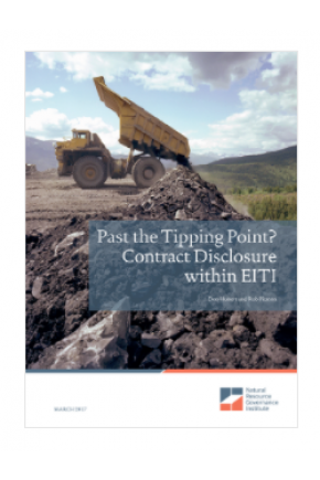 Past the Tipping Point? Contract Disclosure within EITI