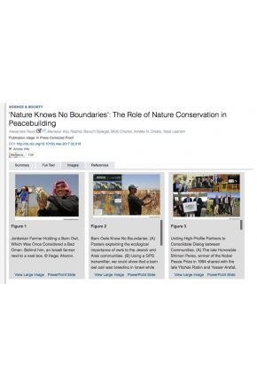Nature Knows No Boundaries: The Role of Nature Conservation in Peacebuilding