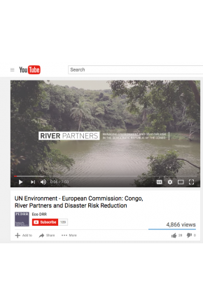 UN Environment - European Commission: Congo, River Partners and Disaster Risk Reduction [Video]