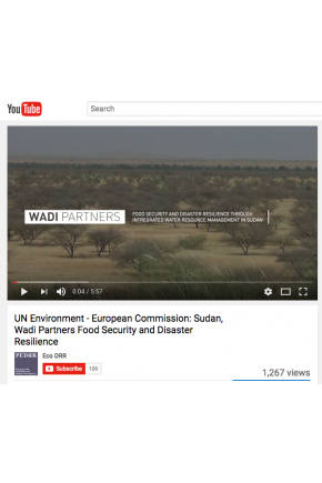 UN Environment - European Commission: Sudan, Wadi Partners Food Security and Disaster Resilience [Video]