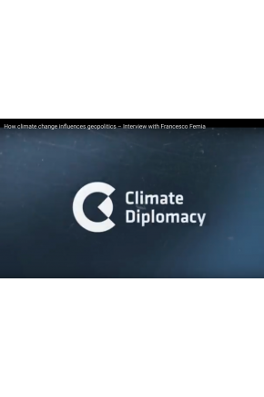How Climate Change Influences Geopolitics – Interview with Francesco Femia [Video]