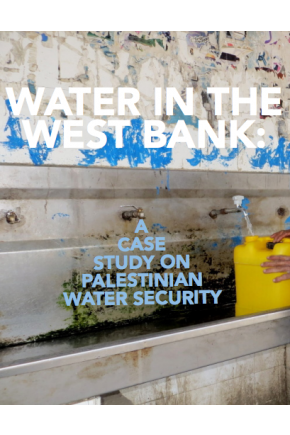 Water in the West Bank: A Case Study on Palestinian Water Security