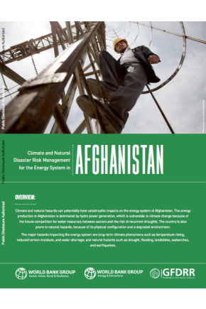 Climate and Natural Disaster Risk Management for the Energy System in Afghanistan
