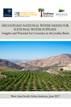 Decoupling National Water Needs for National Water Supplies: Insights and Potential for Countries in the Jordan Basin