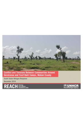 Conflict and Tensions between Communities around Gendrassa and Yusif Batil Camps, Maban County