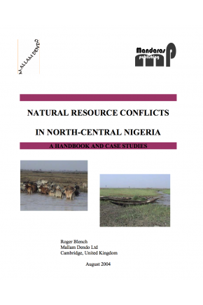 Natural Resource Conflicts in North-Central Nigeria