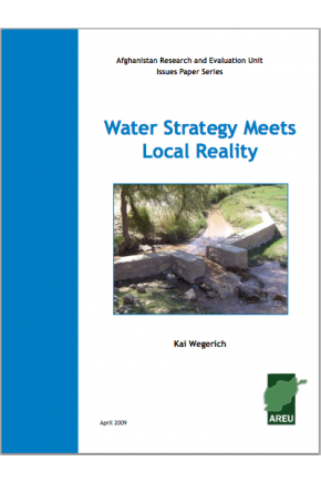 Water Strategy Meets Local Reality