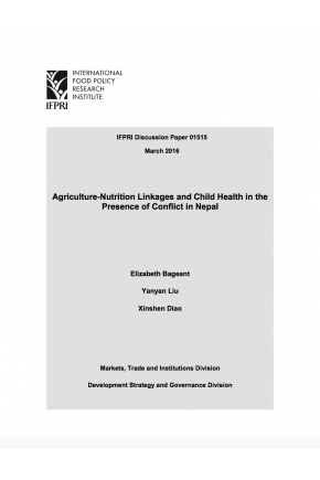 Agriculture-Nutrition Linkages and Child Health in the Presence of Conflict in Nepal