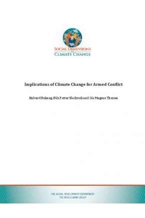 Implications of Climate Change for Armed Conflict