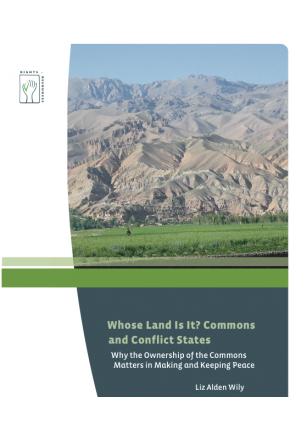 Whose Land Is It? Commons and Conflict States: Why the Ownership of the Commons Matters in Making and Keeping Peace