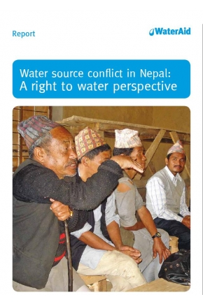 Water Source Conflict in Nepal: A Right to Water Perspective