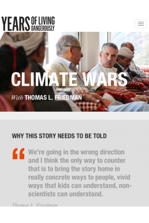 Climate Wars - Years of Living Dangerously [Video]