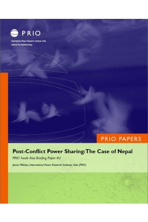 Post-Conflict Power Sharing: The Case of Nepal